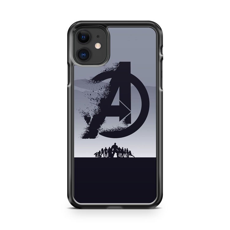 Avengers Endgame Logo 2 iPhone 11 Case Cover | Oramicase