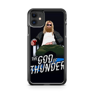 Avengers Endgame The God of Thunder iPhone 11 Case Cover | Oramicase