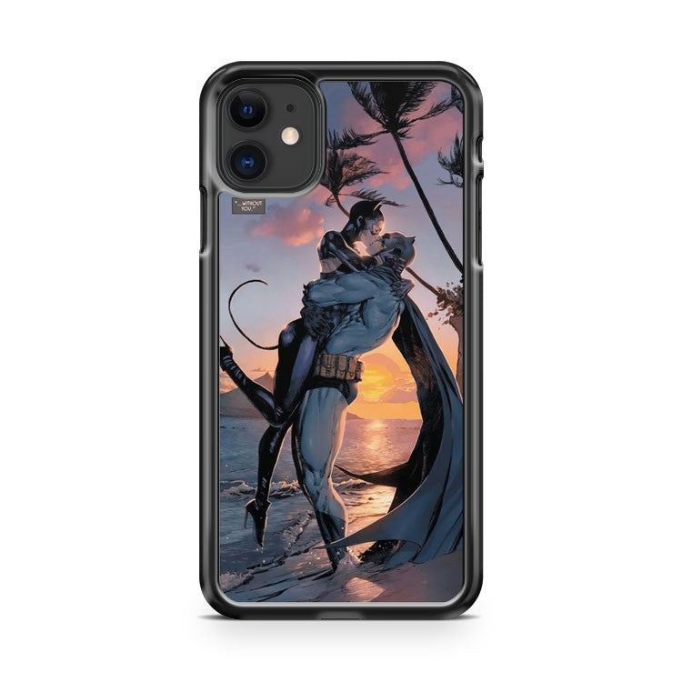 Batman Kiss Cat Woman iPhone 11 Case Cover | Oramicase