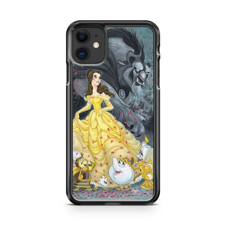 Belle and the Beast Disney Beauty and the Beast iPhone 11 Case Cover | Oramicase