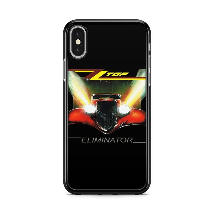 Zz Top Eliminator Classic Retro Rock Band iPhone XS MAX Case Cover