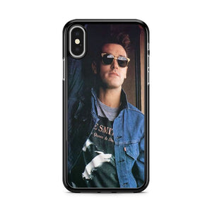 The Smiths Morrissey Photograph iPhone XS MAX Case Cover