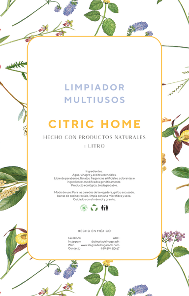 Limpiador Multiusos Citric Home 1,000ml