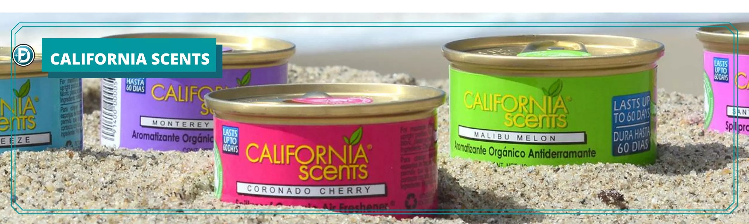 CALIFORNIA SCENTS - FORMULA DETAILING