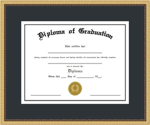 Decorative Diploma Frame