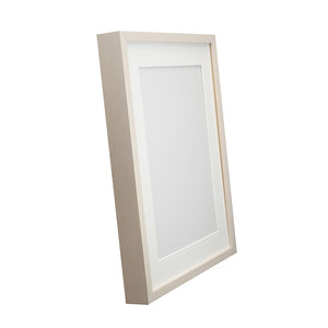 White Wash Maple Frame