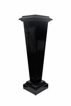 Load image into Gallery viewer, Black Lacquer Floor Pedestal