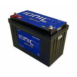 Ionic 12 Volt 125Ah Lithium Ion Battery - Custom Tackle Supply