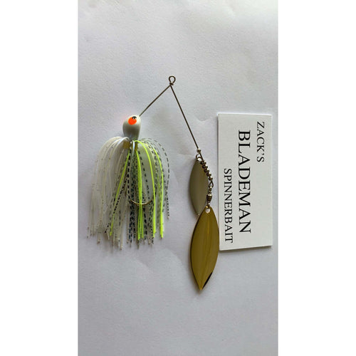 Zack's Blademan Spinnerbaits (Double Willow) - Custom Tackle Supply