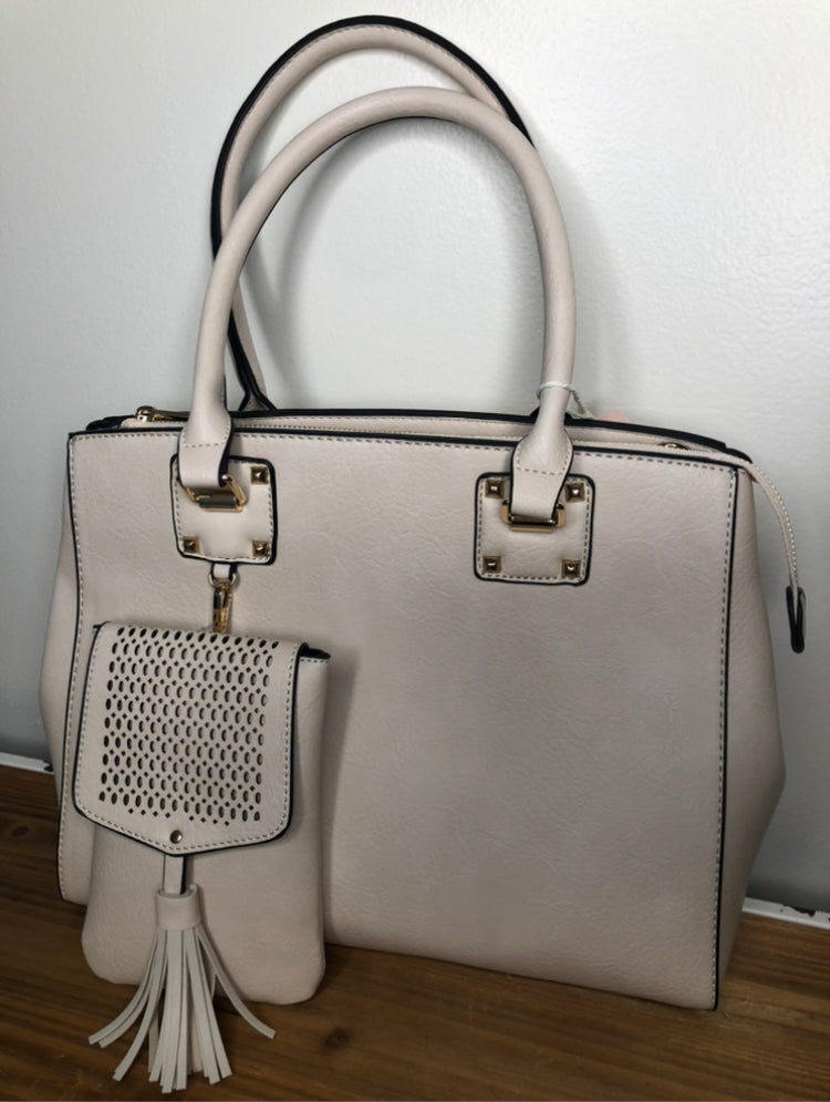 Fashion Purse- Beige