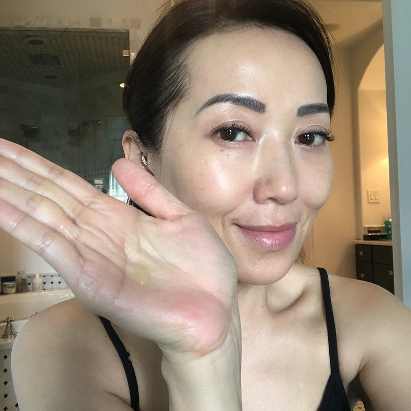 U Beauty Blog | Beneath the Surface: The Resurfacing Revolution | photo of U Beauty Founder, Tina Crain, applying U Beauty Resurfacing Compound