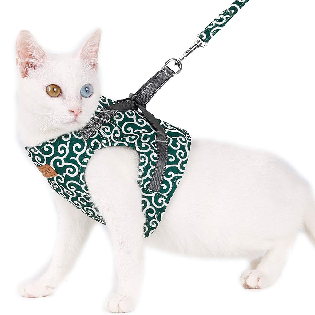 !! High quality !! Harness and leash of the cat vest for walking outdoors