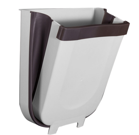 Press & Pull - Wall Mounted Waste Bin