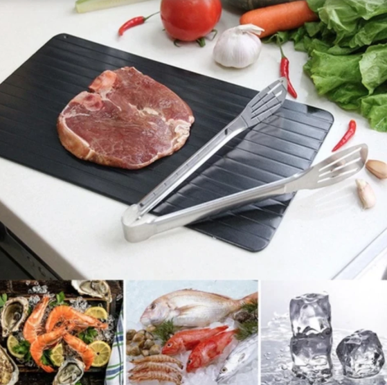 Thaw Master Cooking Tray - Fast Defrosting Tray