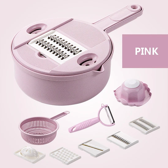 Multi-function chopper - 9 IN 1 Multifunction Vegetables Cutter