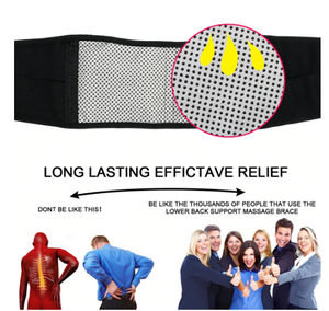 Tcare Adjustable Waist Tourmaline - Self heating Magnetic Therapy