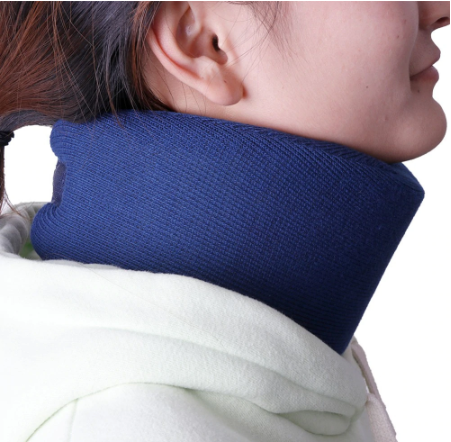Soft Foam Cervical Collar Neck Brace - Support Shoulder and Pain Relief (Adjustable)