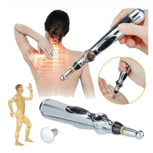 Acupuncture Pen, Gosear Electronic Accupuncture Pen Massage Pen Energy Pen Relief Pain Tool