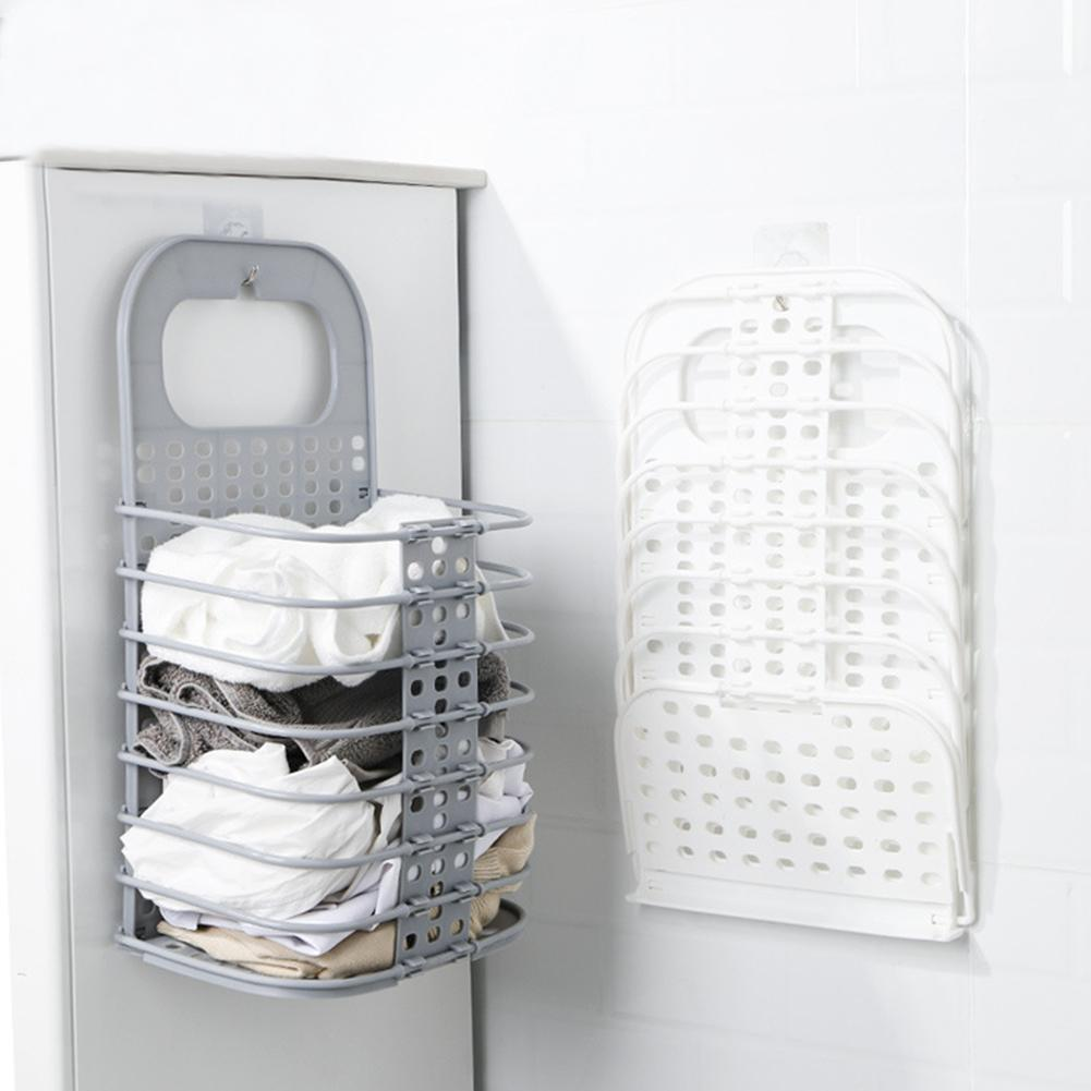 Multifunctional Storage Basket - Laundry Wall Organizer Basket