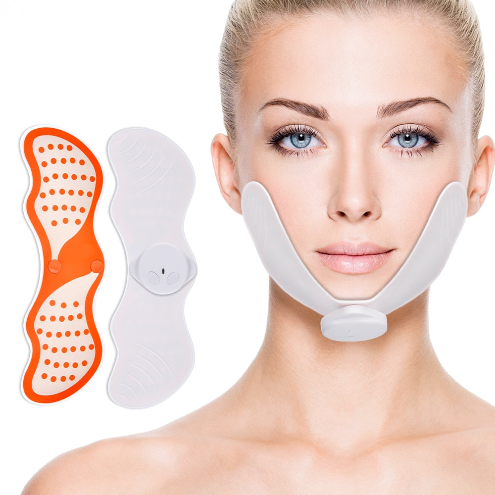 EMS Face Lifting  Massager - Electrical Nerve Stimulation V Face Slimming