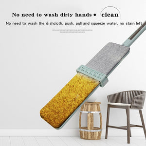 Hands Free Washing Flat Lazy Mop