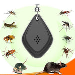 Ultra sonic Pest Reppeler - Pet Portable Ultrasonic Mosquito Repeller