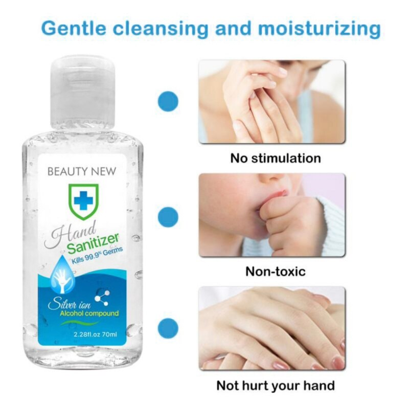 70ml Disposable Antibacterial Sterilization Hand Sanitizer
