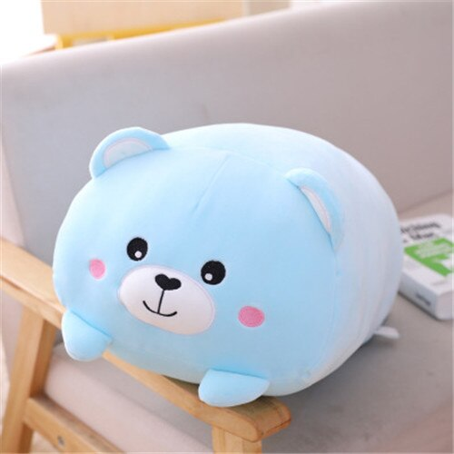 9 styles animals Cushion Plush toy with Cute and dull Stuffed