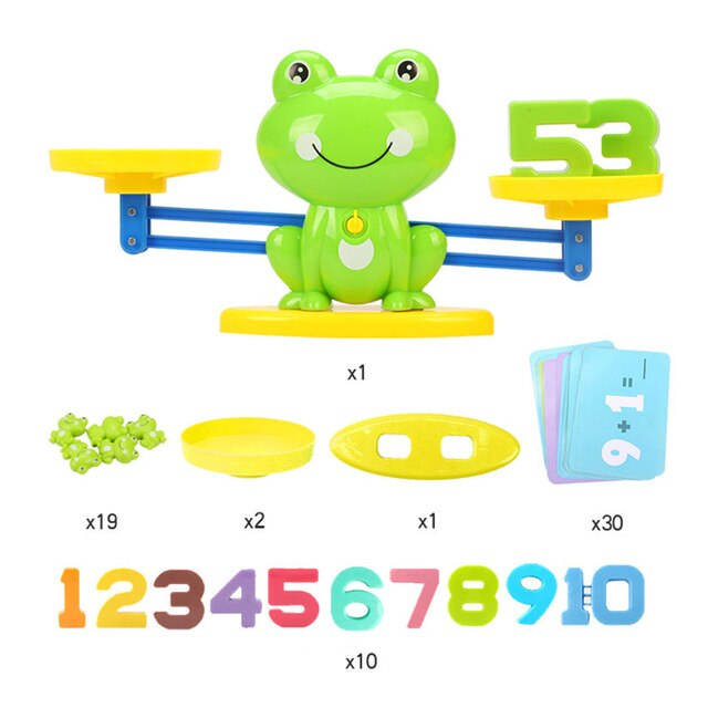 63 pieces of scales educational toys