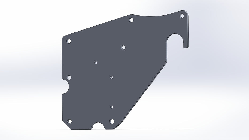 Oem Vd Rear Wing Mount Plates