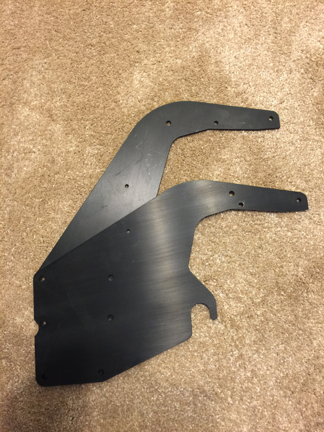 Vhe Vd Rear Wing Swan Neck Mount Plates