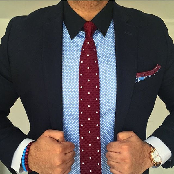 Polka Dot Ties How And When To Wear A Polka Dot Tie