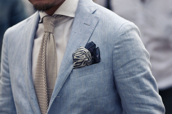 6f8b6a39c46a How to Match Ties to Pocket Squares
