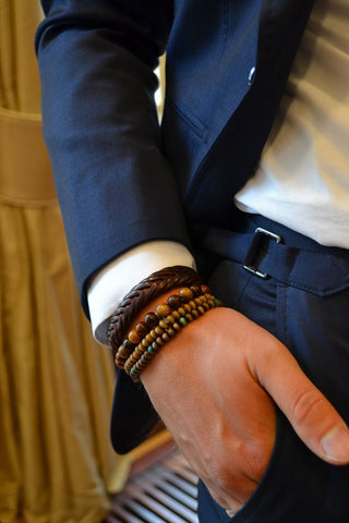 When to Wear Men's Beaded Bracelets
