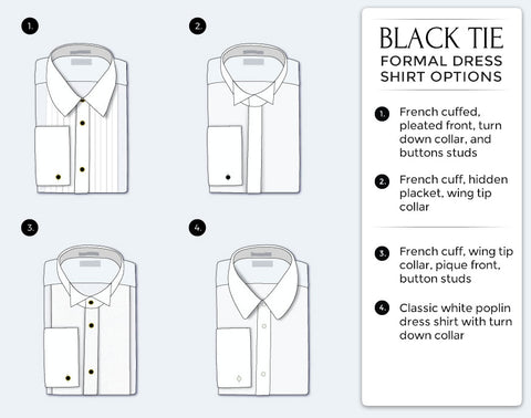 How to Wear a Tuxedo Dress Shirt