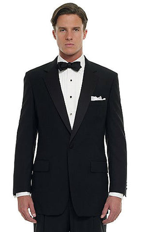 How to Wear a Tuxedo Notched Lapel Black Tie