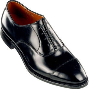 Black Cap Toe Oxfords