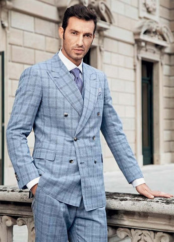 Bespoke Plaid Suit