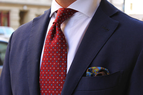 Dark Red Tie