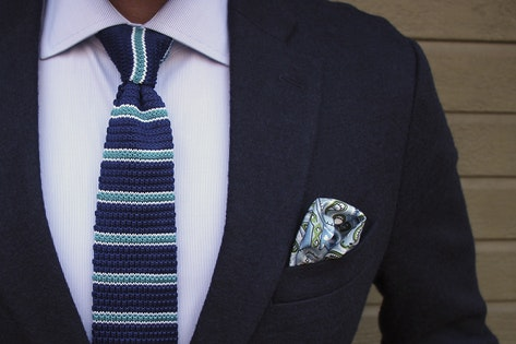 Business Casual Pocket Square