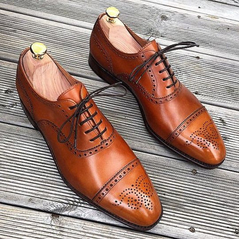 Business Casual Brown Brogues