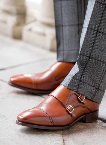 Business Casual Monkstraps
