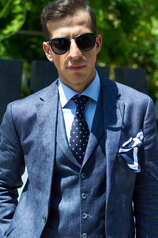 Chambray Suit
