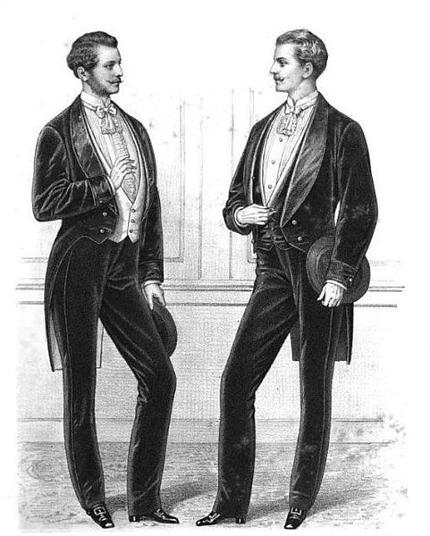 Men's Clothing 1870's