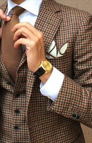 Suit Tie Pocket Square Accessorizing