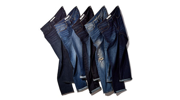 Types of washes for jeans