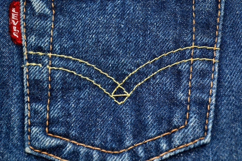 Yellow Stitching Levi's