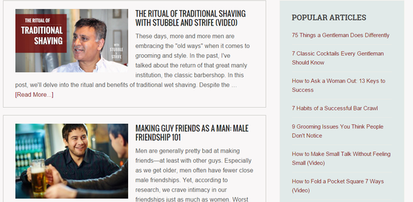 Best Men's Lifestyle Blogs The Distilled Man