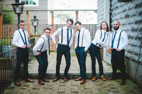 How Men Can Dress For A Wedding