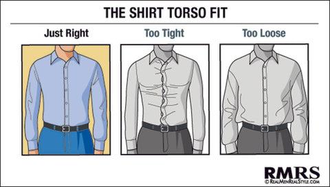 Dress Shirt Torso Fit